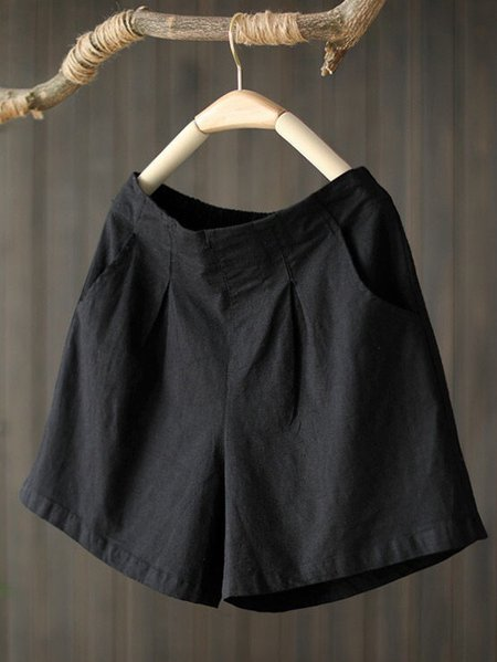 Solid Pants Black/One-size