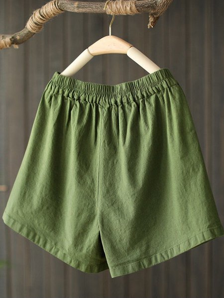 Solid Pants Army Green/One-size