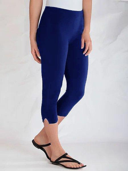 Baumwolle Schmale Hosen